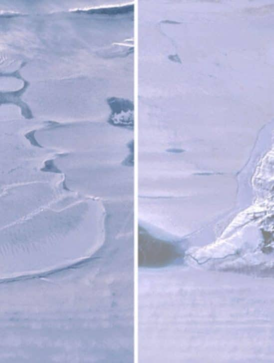 drainage lac antarctique