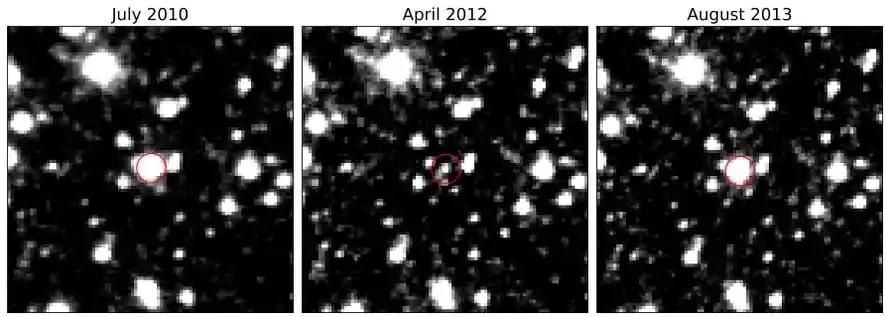 image telescope variation etoile