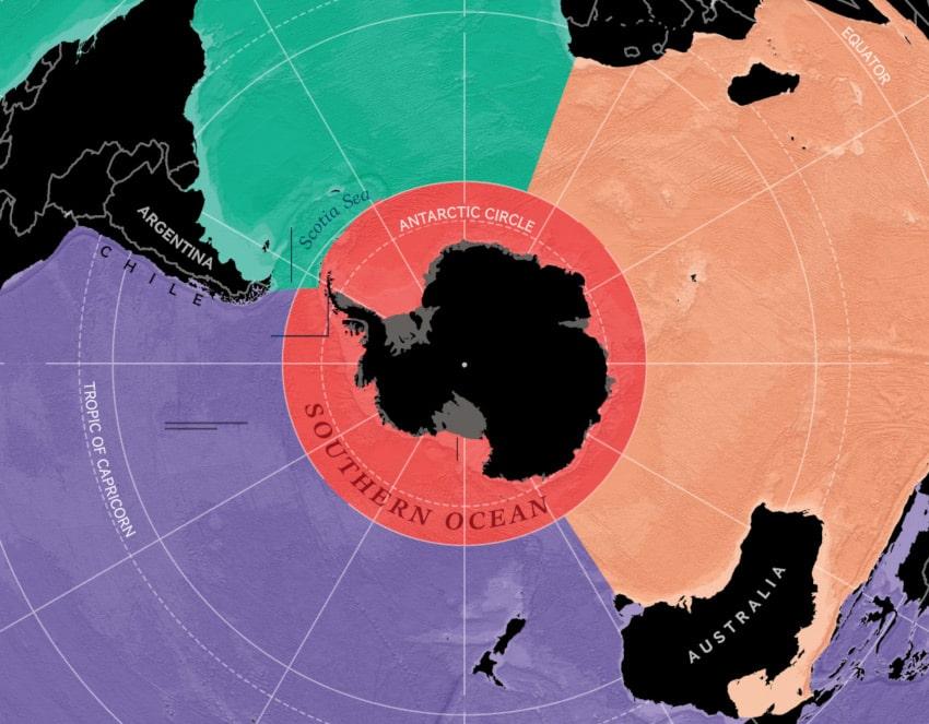 limites océan austral