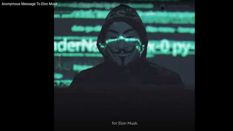 message Anonymous Elon Musk