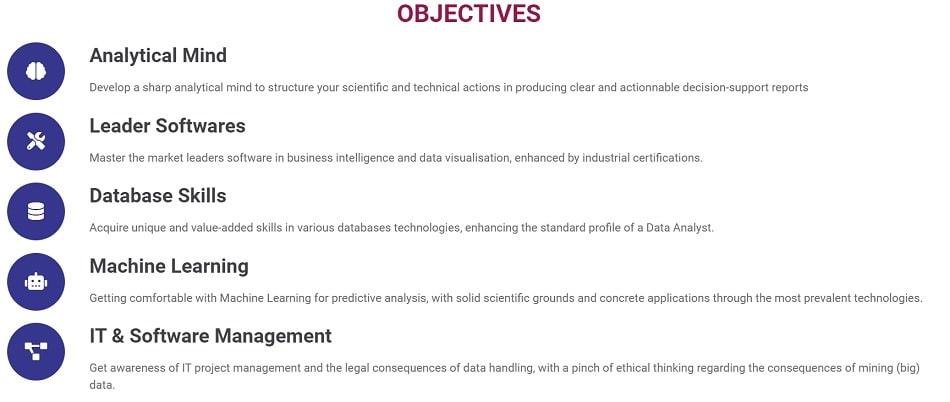 objectifs formation data analyst