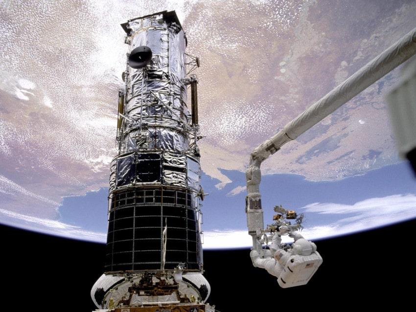 opération maintenance Hubble 1993