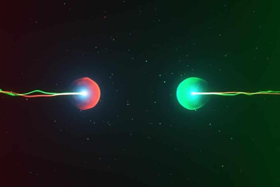 physiciens decouvrent particule oscille matiere antimatiere