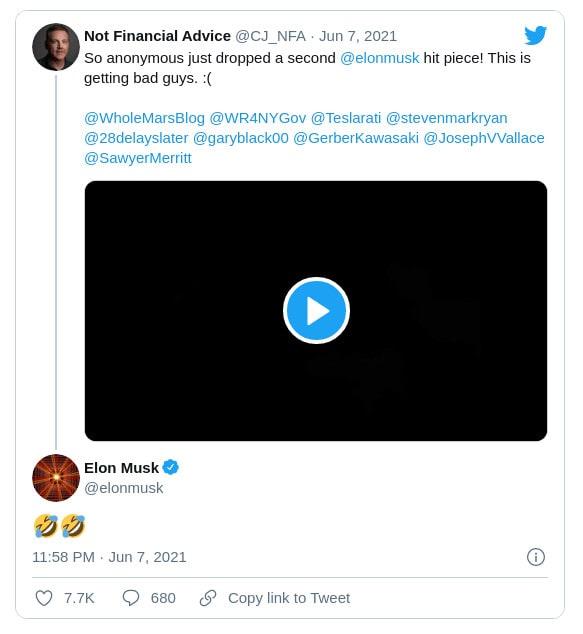 réponse Elon Musk