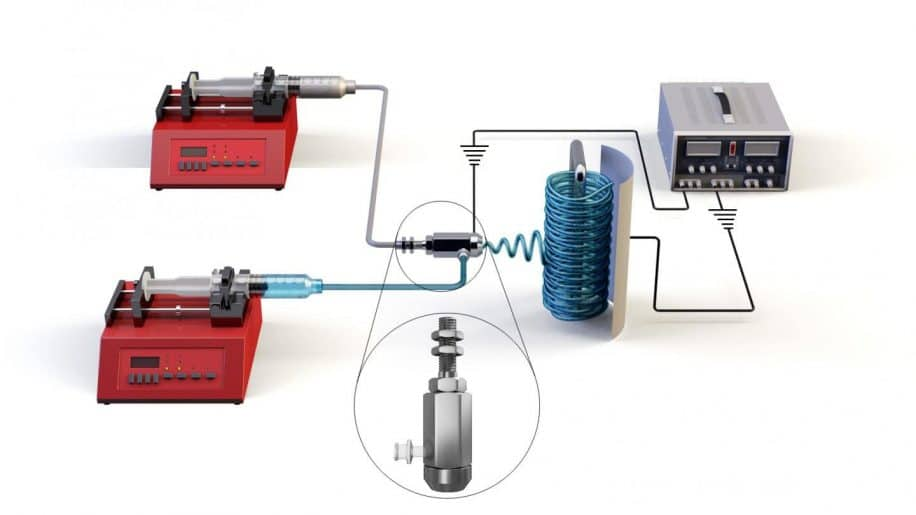 distillation membrane coaxiale électrofilée