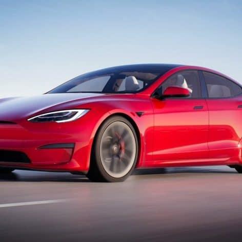 tesla model s plaid voiture plus rapide disponible achat