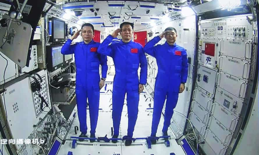 astronautes chinois Tiangong