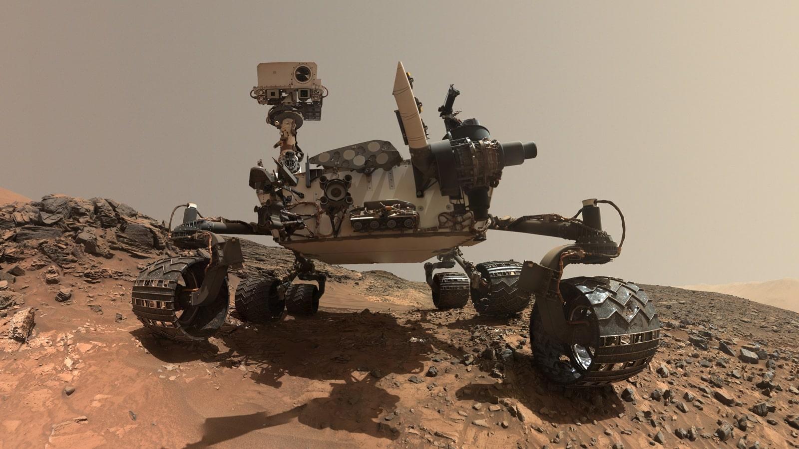 Curiosity découvre que des traces d'une ancienne vie martienne ont potentiellement été détruites