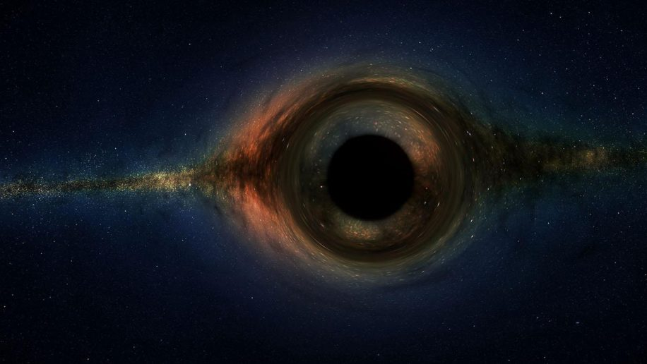 description mathematique trous noirs reflechissent univers