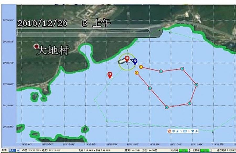 details essais sous-marins autonomes chinois