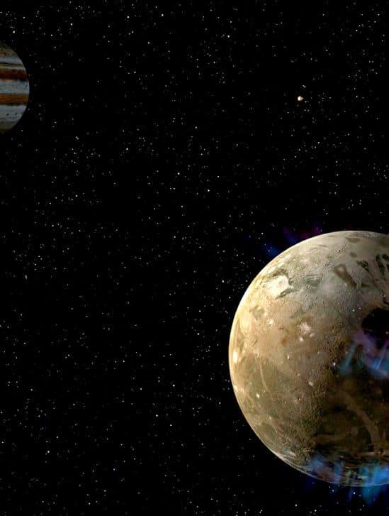 hubble decouvre vapeur eau lune jupiter ganymede