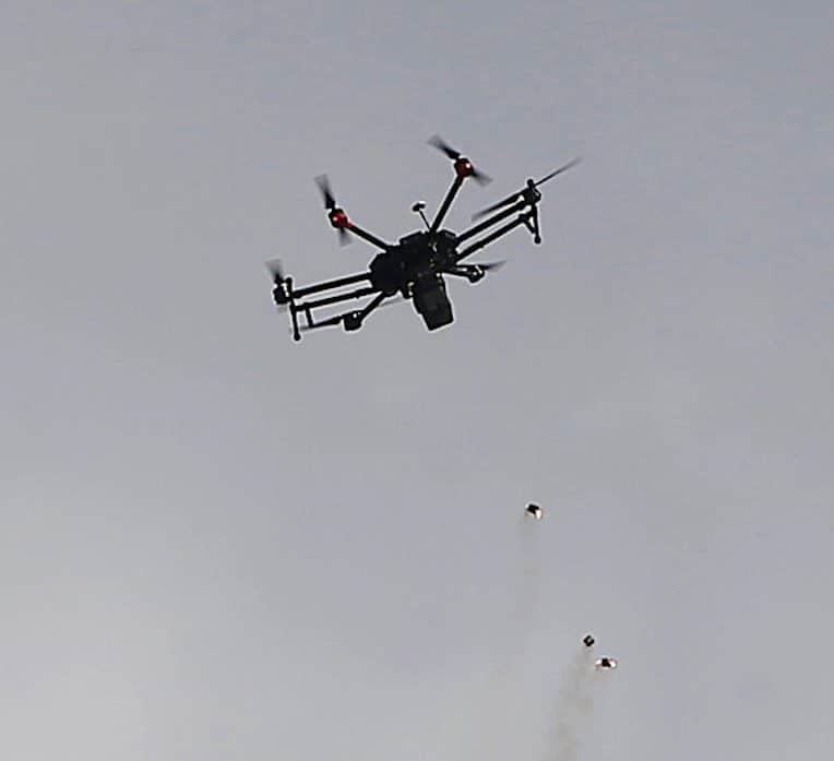 israel utilise premier essaim drones guides par ia attaques contre gaza
