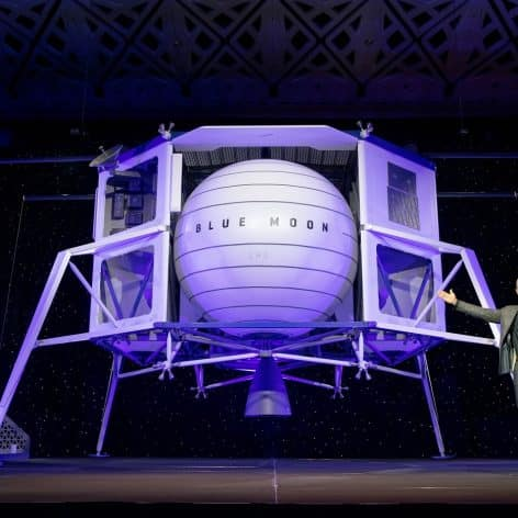 jeff bezos propose 2 milliards dollars nasa atterrisseur lunaire