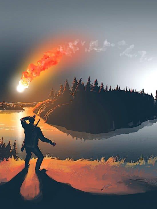 meteore abattu millions arbres siberie a fait que froler terre nouvelle etude