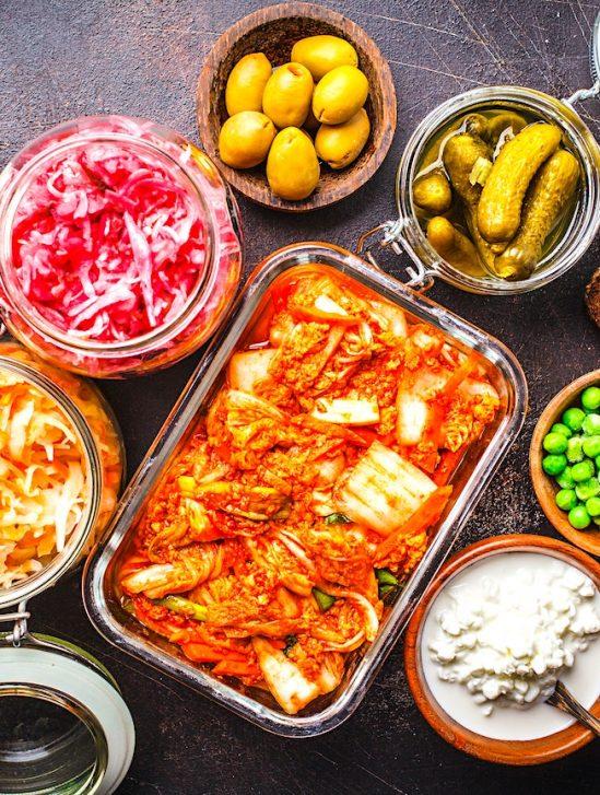 regime aliments fermentes augmenterait diversite micriobiote et reduirait inflammation