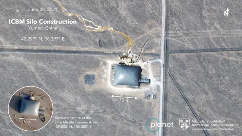 silo missile caché