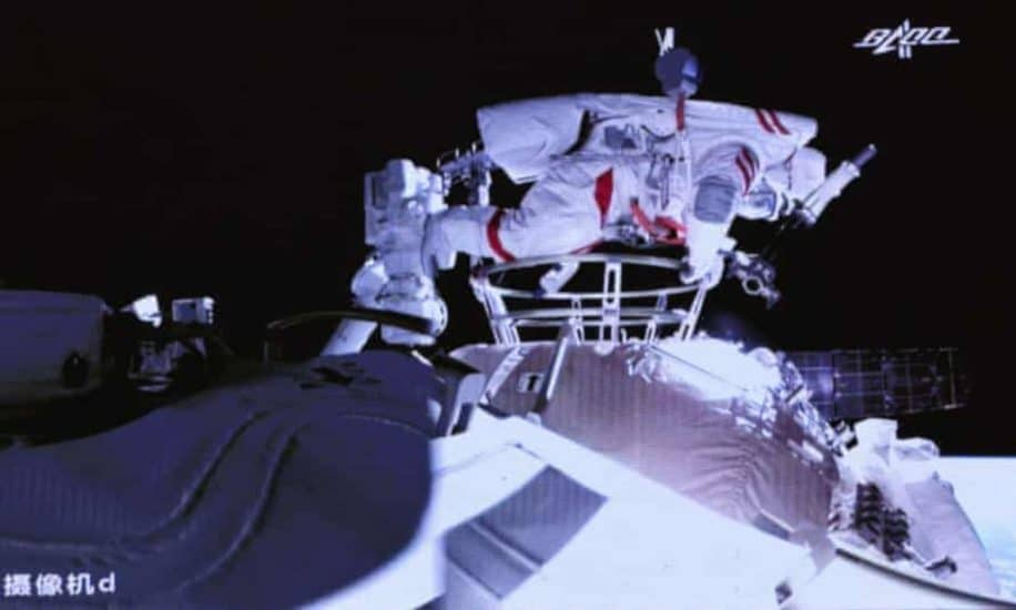 sortie espace astronautes chinois tiangong