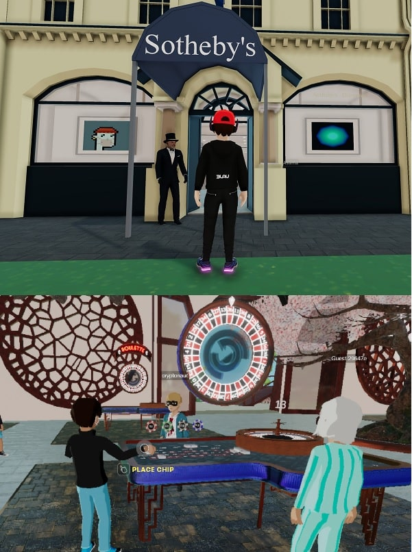 sothebys casino decentraland