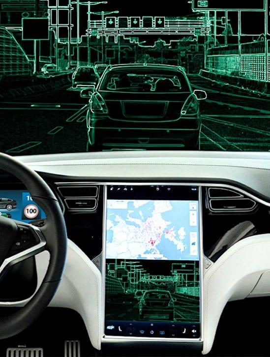 tesla facture 200 dollars par mois utilisation fonction conduite autonome