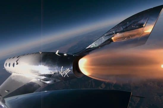 virgin galactic richard branson vol suborbital succes