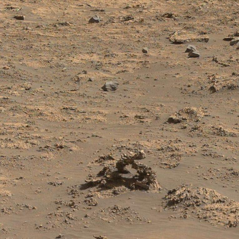 arche pierre Mars Curiosity
