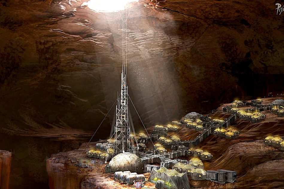 colonisation mars entrees grottes martiennes offriraient protection efficace contre radiations