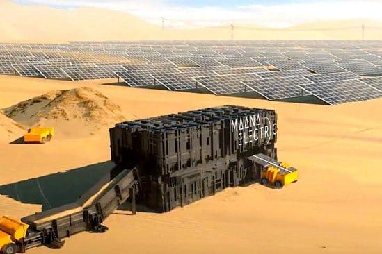 dispositif autonome revolutionnaire produit des panneaux solaires a partir sable couv