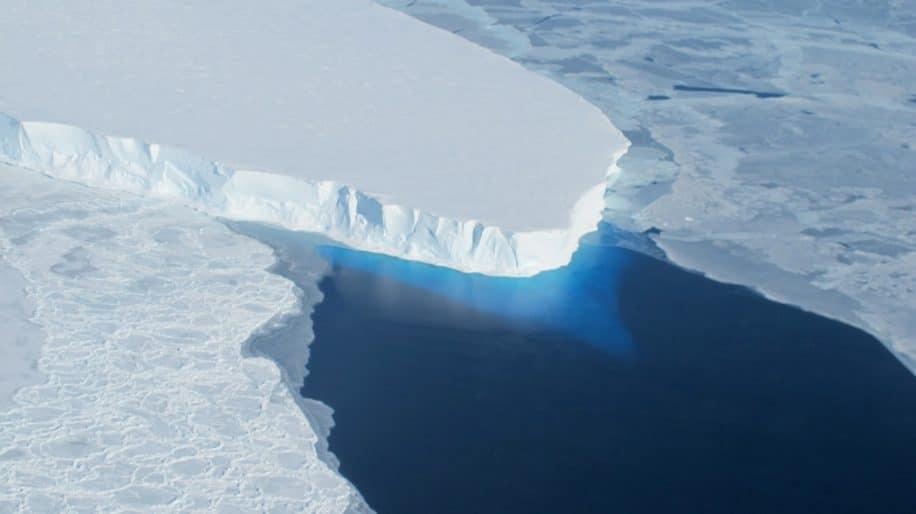 glacier thwaites flux chaleur