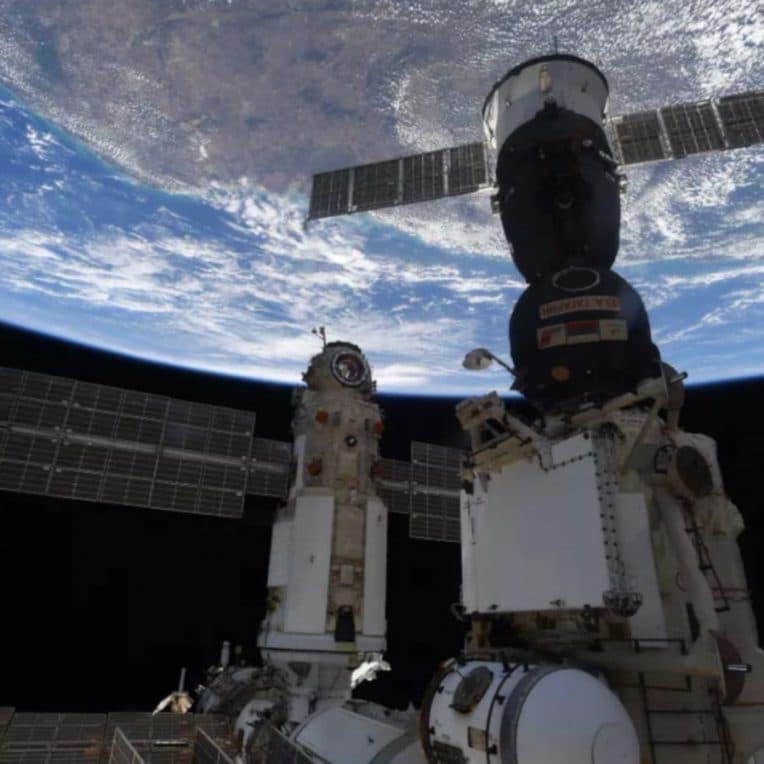 incident module nauka station spatiale