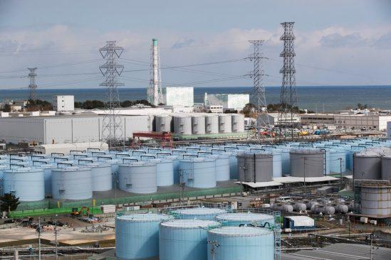 rejet eau radioactive Fukushima