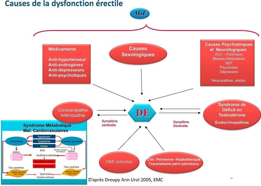 schema causes dysfonction erectile