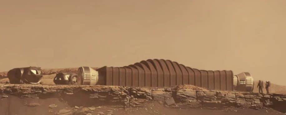 simulation NASA missions habitées mars