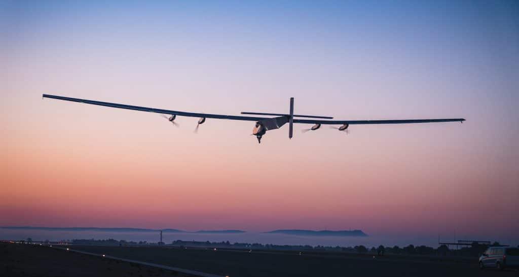 skydweller decollage lever soleil essai