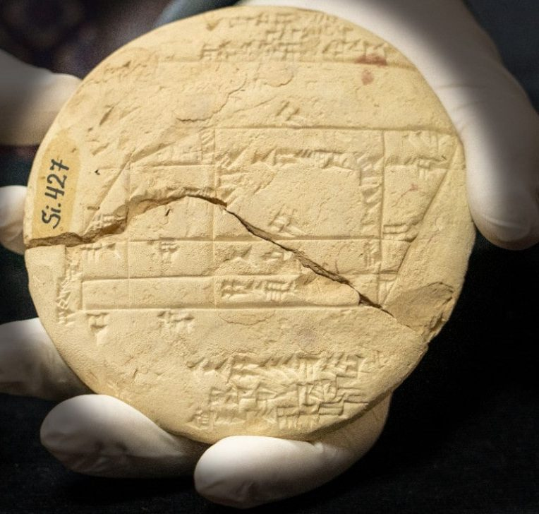 tablette babylonienne trigonométrie