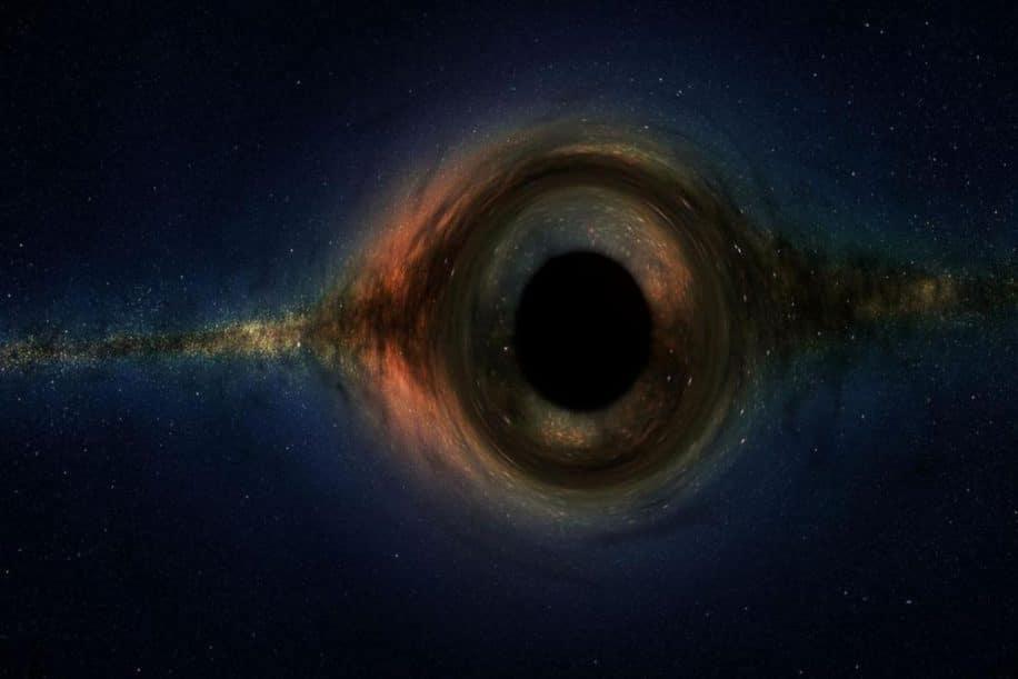 trou noir paradoxe information sphere photons