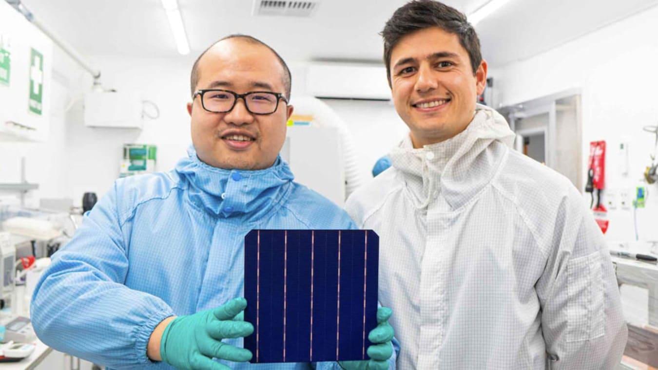 Une start-up développe des panneaux solaires plus durables et plus efficaces, à base de cuivre