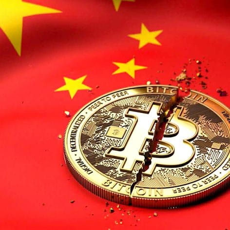 chine rend illegales transactions cryptomonnaies chute bitcoin