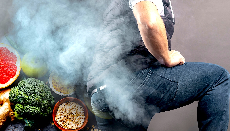 Les hommes ont plus de flatulences lorsqu'ils suivent un régime à base de plantes en raison des bonnes bactéries intestinales