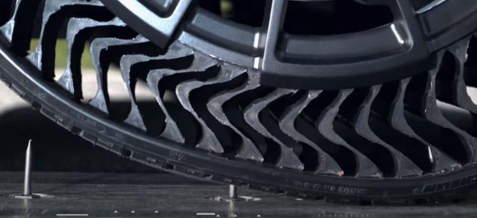 pneu anti-crevaison michelin