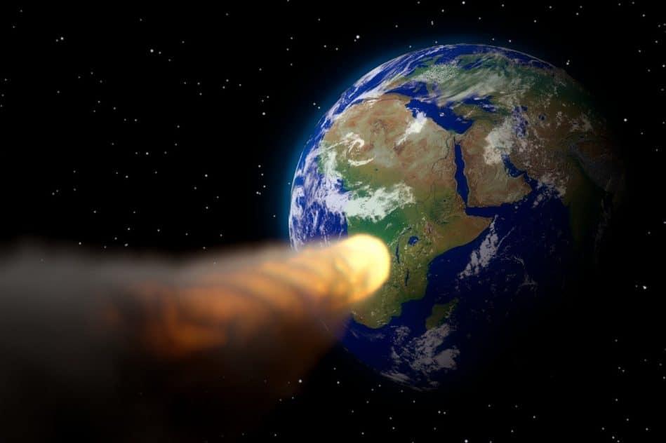 preuve explosion astéroïde jordanie