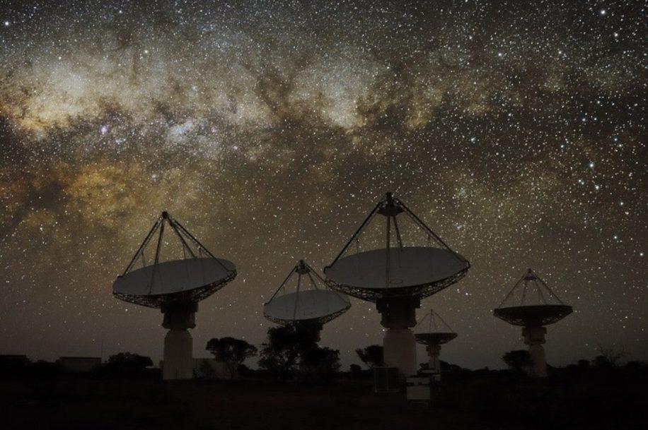 signal radio objet inconnu galaxie