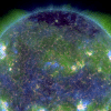 tempete geomagnetique en cours avec aurores boreales visibles-latitudes inhabituelles