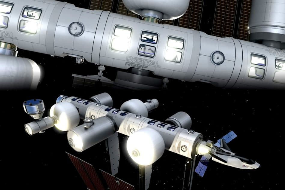 blue origin sierra space conception station spatiale commerciale