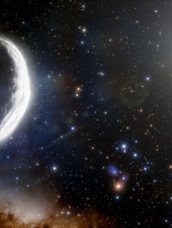 comète géante système solaire