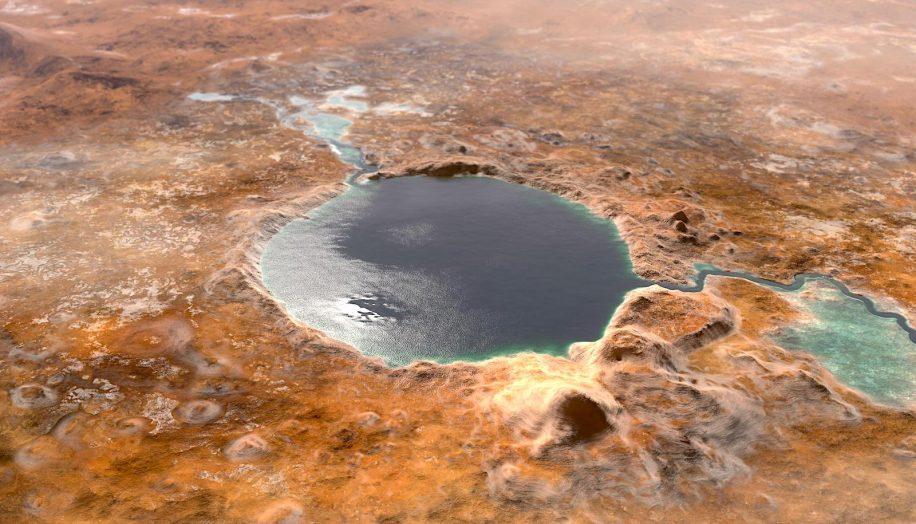 confirme cratere jezero mars ancien lac