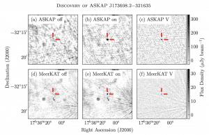 Odkrycie sygnału radiowego i galaktyki Askap
