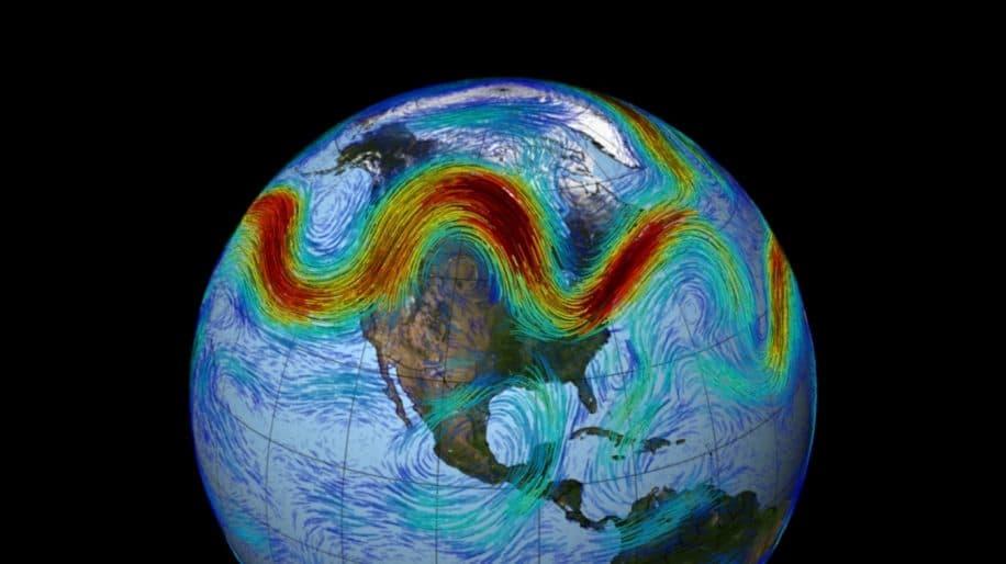 déplacement courant-jet polaire