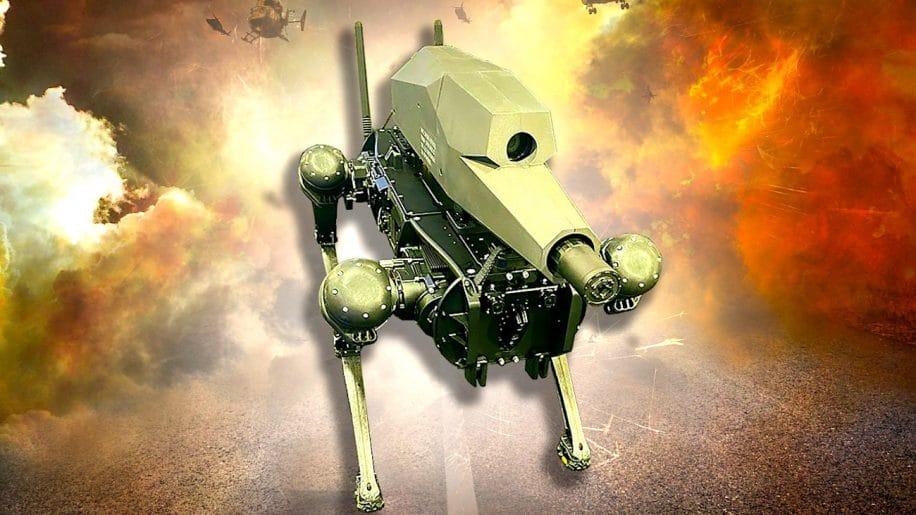 experts choques par nouveau robot militaire avec fusil precision