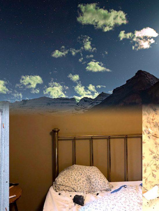 femme failli etre tuee par meteorite ecrasee sur son lit