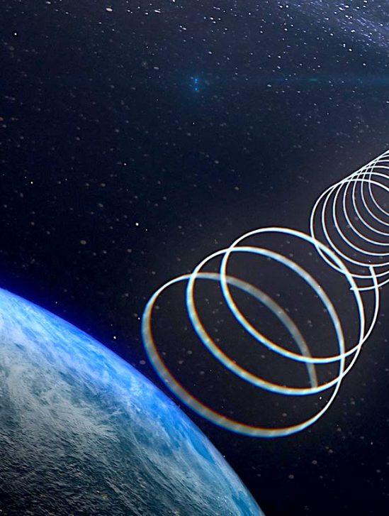 objet mystérieux envoie ondes radio depuis centre galaxie